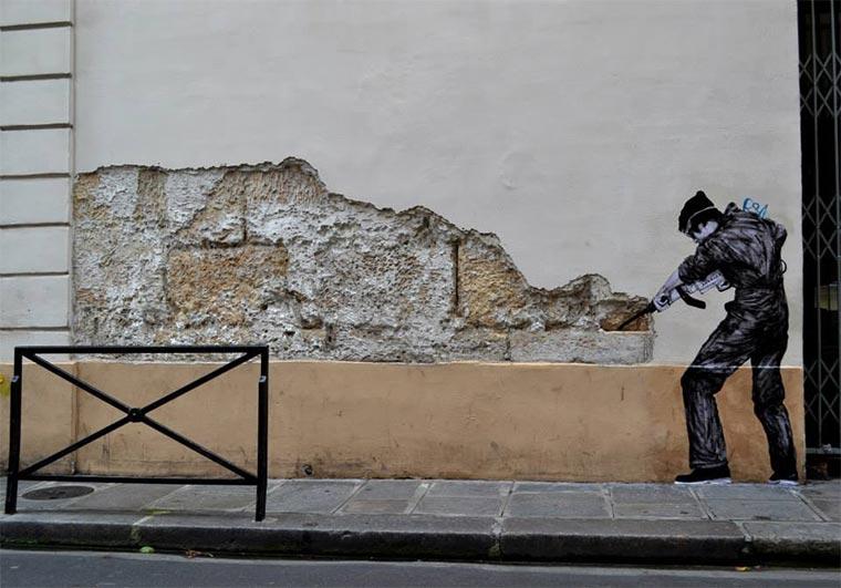 Street Art: Levalet Levalet_07