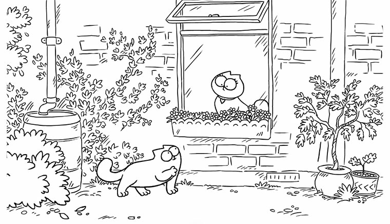 Simon's Cat – Butterflies