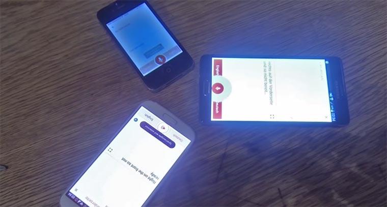 Talking-smartphones