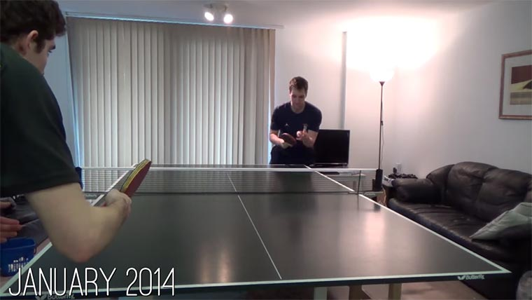In einem Jahr zum Tischtennis-Profi Tischtennisjahr