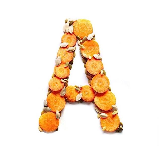 Food Typografie: Vitamine Vitamin-Typography_02