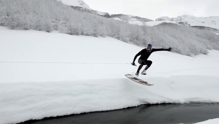 Winter Wakeskate Wonderland Winter-Wakeskate
