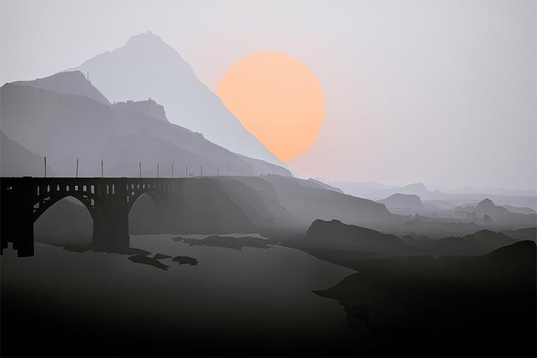Surreal: GTA V ohne Texturen los_santos_obj_01