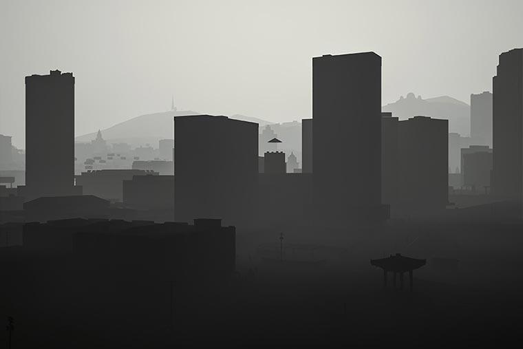 Surreal: GTA V ohne Texturen los_santos_obj_02