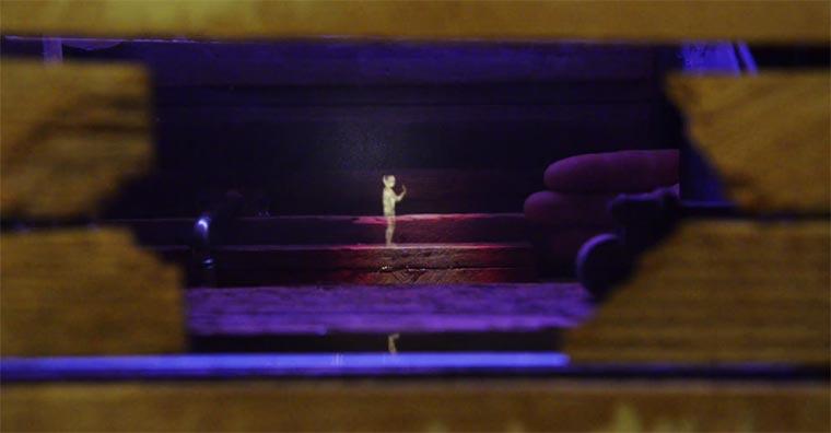 Interaktive Minigolf-Projektion sleepwalkers