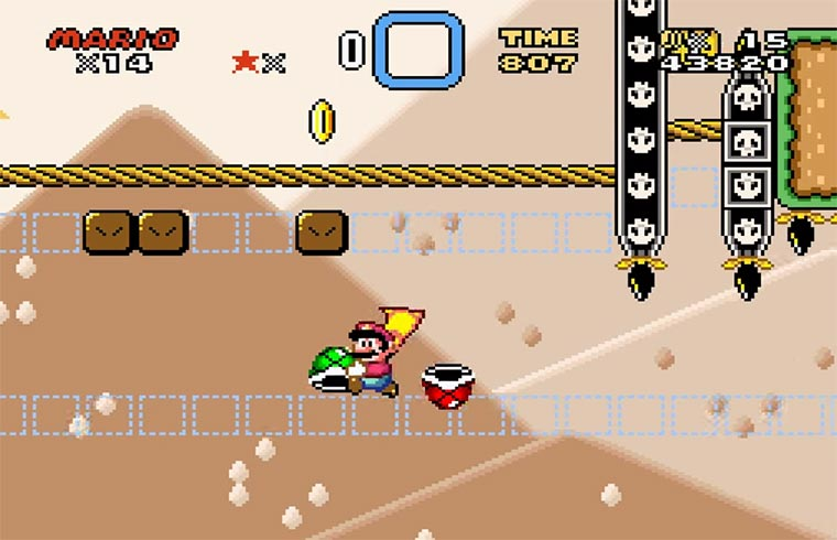 Das schwerste Super Mario-Level ever super-mario_item-abuse