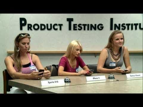 Smartphonetest: Blondinen & Kleinkinder
