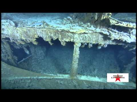 Tauchgang zum Titanic-Wrack