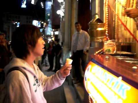 Eiscreme kaufen in Istanbul