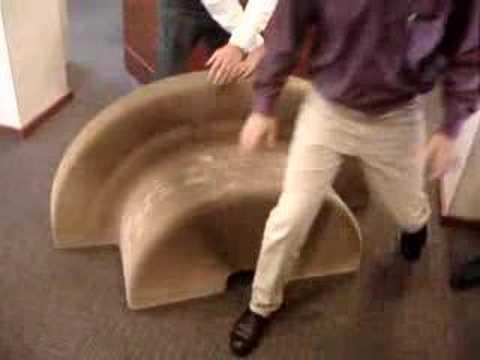 flexibles Papp-Falt-Stuhlsofatischding