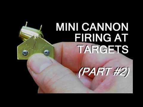 Mini Cannon Shots #2