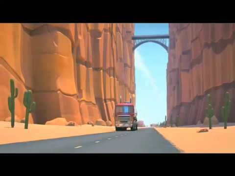 Looney Tunes Road Runner & Coyote in 3D