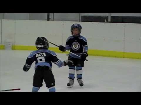 Intensiver Eishockeyfight