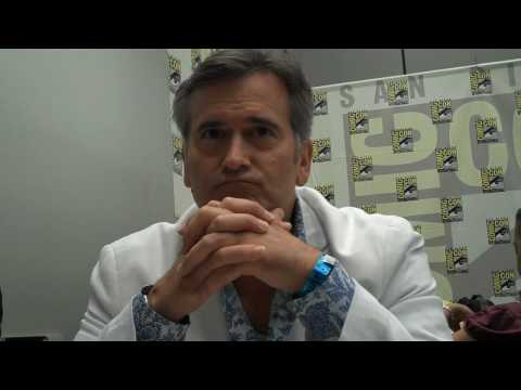 Bruce Campbell starring Burn Notice Prequel
