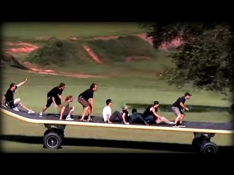 Das weltgrößte Skateboard