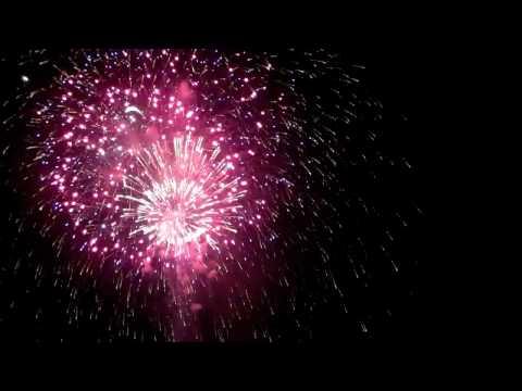 30 Minuten 4. Juli-Feuerwerk in 3 Minuten