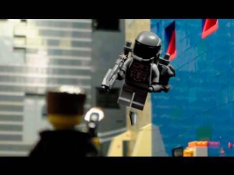 LEGO Stopmotion-Schießerei