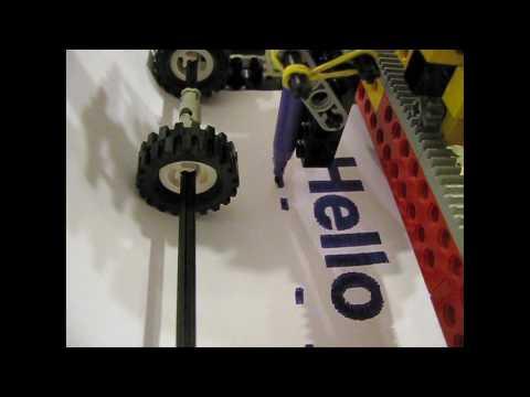 Funktionierender LEGO-Drucker
