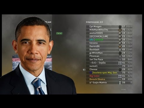 Obama spielt Modern Warfare 2