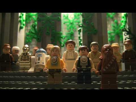 Star Wars in 2 Stopmotion-Minuten