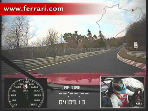 Ferrari 599XX bricht Nürburgringrunden-rekord