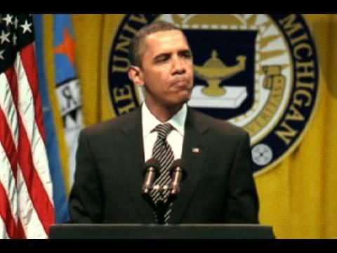 Obama bei Playback-Rede ertappt!