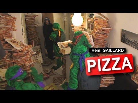 """Rémi Gaillard: """"Pizza"""""""