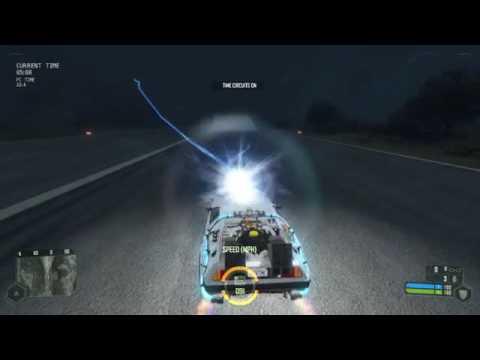 Zurück in die Zukunft DeLorean in Crysis-Mod