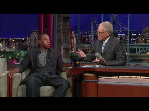 Jay-Z on Letterman