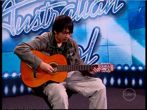 Vinh Bui on Australian Idol