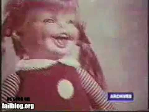 creepy Psycho-Werbung