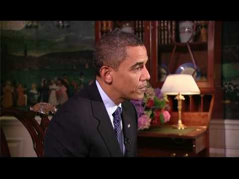 10-Jähriger Damon Weaver interviewt Obama