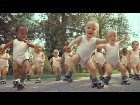 Creepy: Evian Rollerbabies