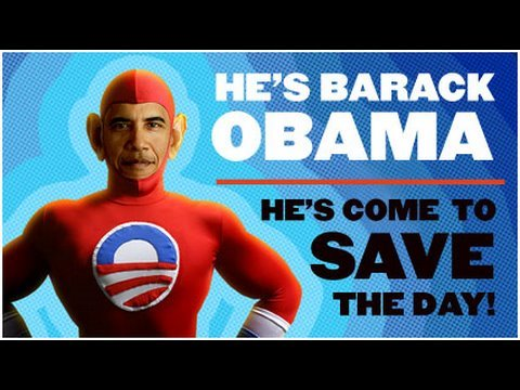 He's Barack Obama