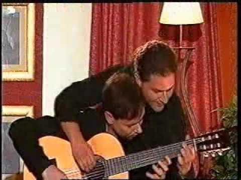 Mozart zu zweit an einer Guitarre