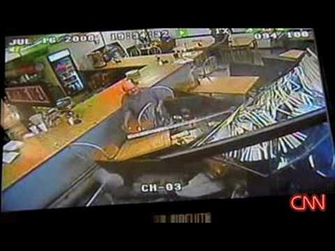 US Diner Crash