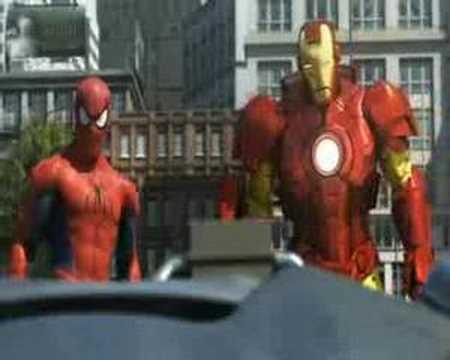 Spidey, Iron Man & Hulk retten die Stadt