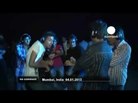 Mumbai: Silent Disco mit Gangnam Style