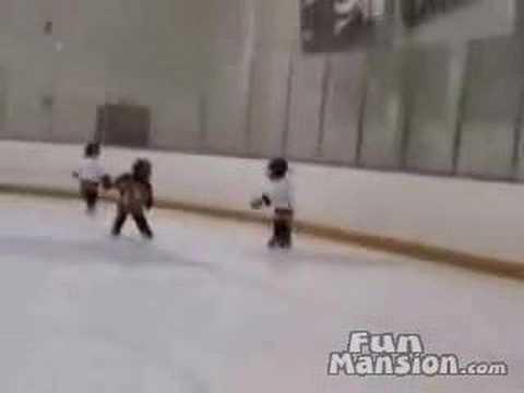 Eishockey-Prügelei