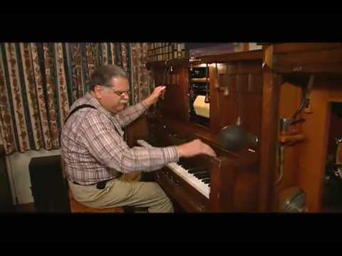 Und heute am Piano: Crazy Joe