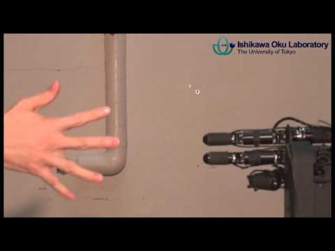 Roboter gewinnt immer bei Stein-Papier-Schere