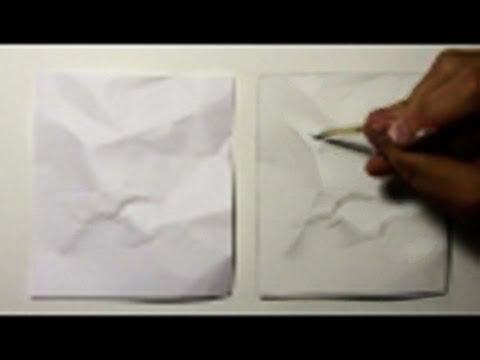 Timelapse einer Papierzeichnung