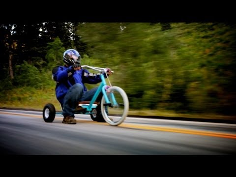 "Downhill Trike Racing ""Fast and the Furious"""