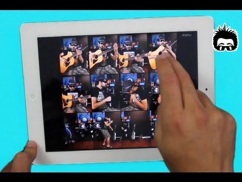 "Michael Jackson ""Beat It"" iPad MultiSample Cover"
