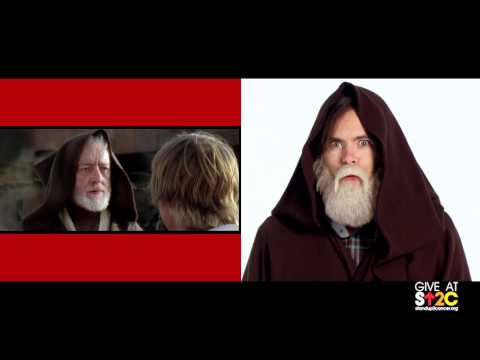 """Emma Stone ft. Some Celebrities """"Stand Up For Cancer"""" – Star Wars Edition"""