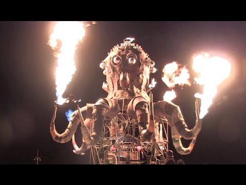 Steampunk Octopus @ Burning Man 2011