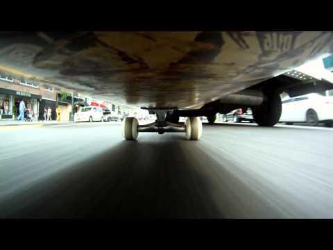 Mit Kamera unterm Skateboard durch New York