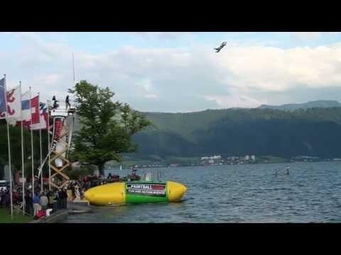 Weltrekord: Höchster Blob Jump