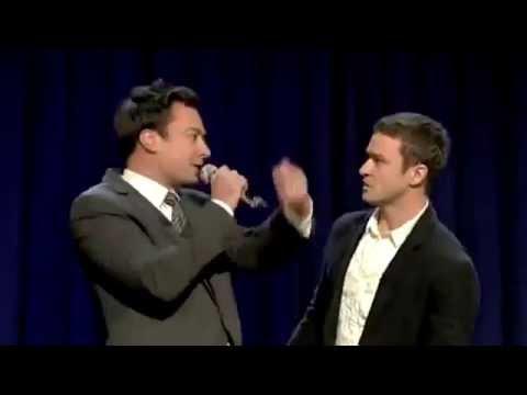 Justin Timberlake, Jimmy Fallon & The Roots spielen Rapgeschichte nach