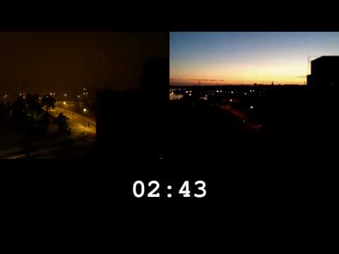 Timelapse: Sommer vs. Winter